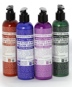 dr bronner bodylotion