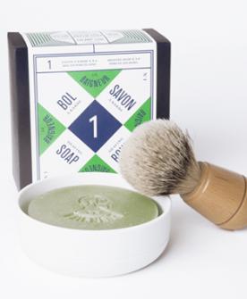 organic shaving soap