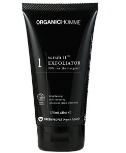green people organic scrub